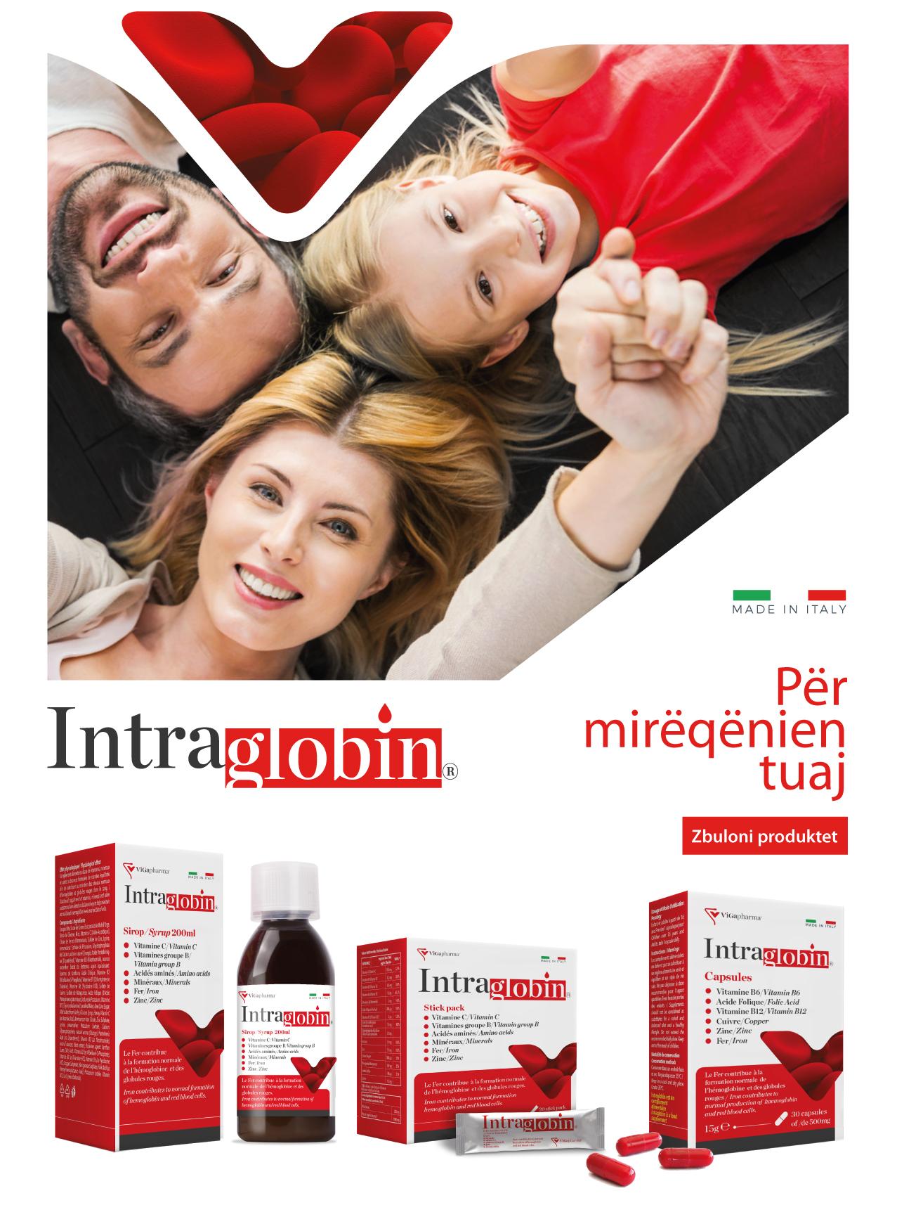 Intraglobin | Për mirëqënien tuaj
